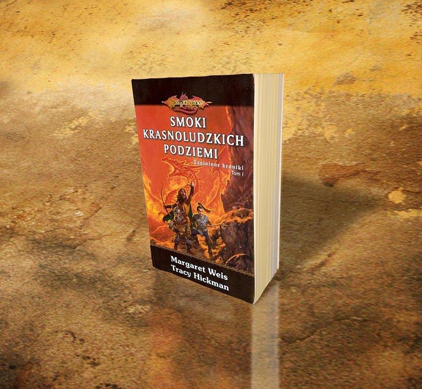 mockup książki fantasy