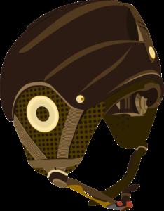ilustracja kasku rowerowego